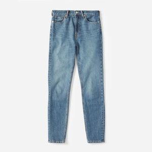 Everlane The High Rise Skinny Jean - Mid Blue 27